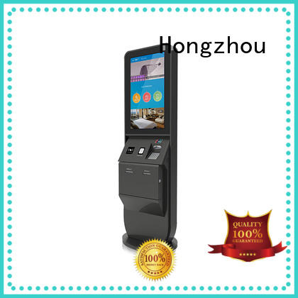 Hongzhou hotel check in kiosk for busniess in villa