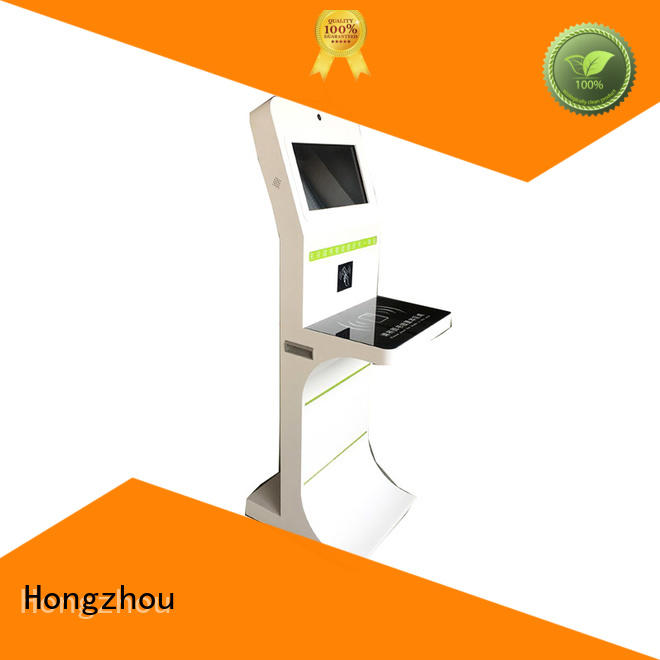 Hongzhou library self service kiosk for busniess for sale