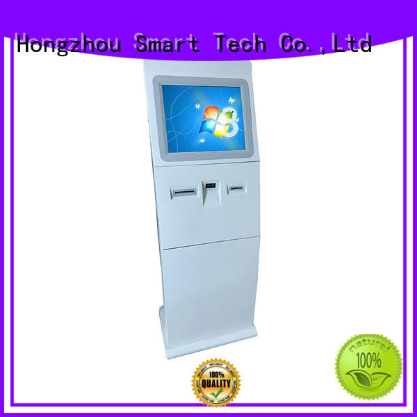 Hongzhou touch screen information kiosk with camera for sale