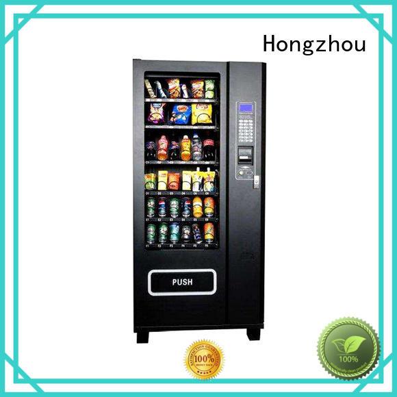 Hongzhou custom automatic vending machine company for shopping mall