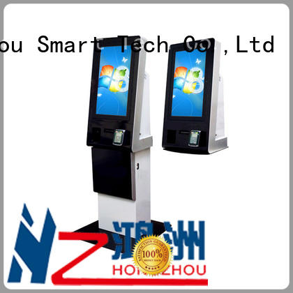 Hongzhou wall mounted self payment kiosk acceptor for sale