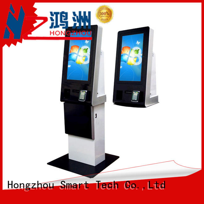 Hongzhou self service touch screen payment kiosk for sale