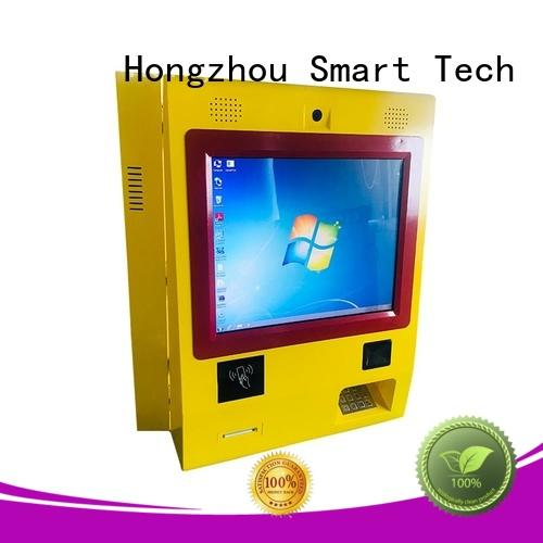 wall mounted kiosk payment terminal company in hotel