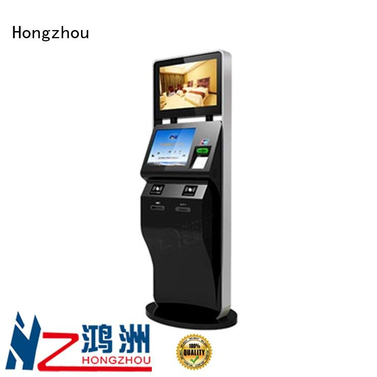 Hongzhou ticket kiosk machine supplier for sale