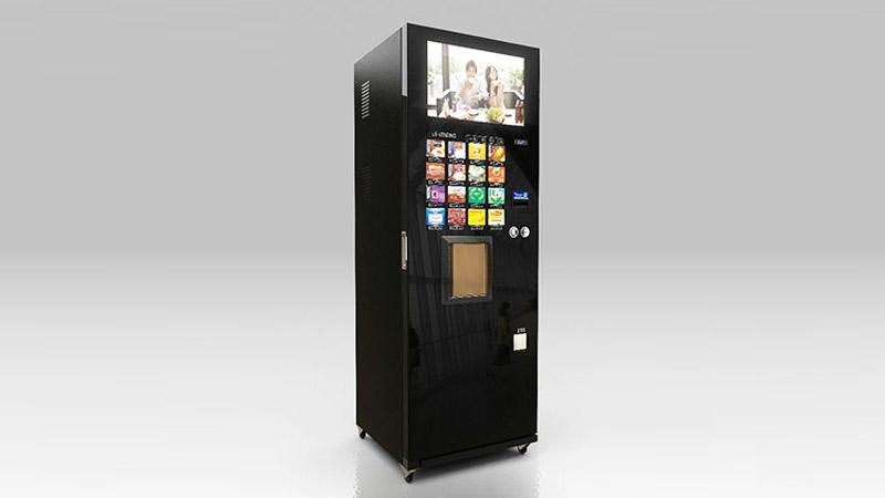 Free standing design snack vending machine for supermarket-1