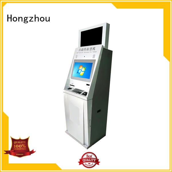 wholesale ticket kiosk machine with printer in cinema