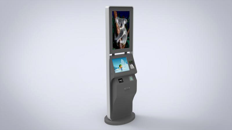 Hongzhou ticket kiosk machine with camera on bus station-2