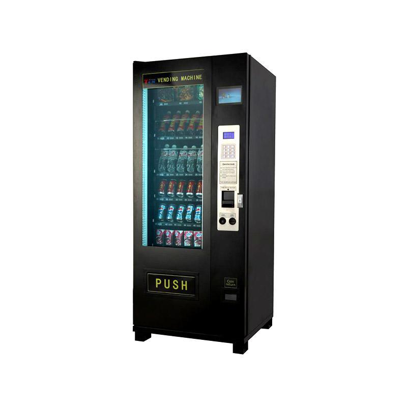 Free standing design snack vending machine for supermarket