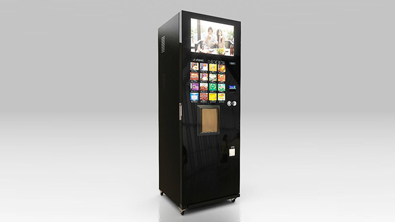 Hongzhou automated vending machine multiple payment for airport-1