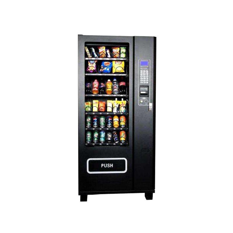 Intelligent self service vending kiosk sell soft drinks and snacks