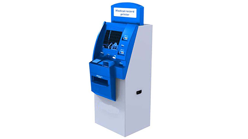 Hongzhou custom patient self check in kiosk with coin for patient-1