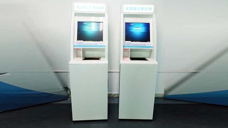 Hongzhou custom patient self check in kiosk with coin for patient-3