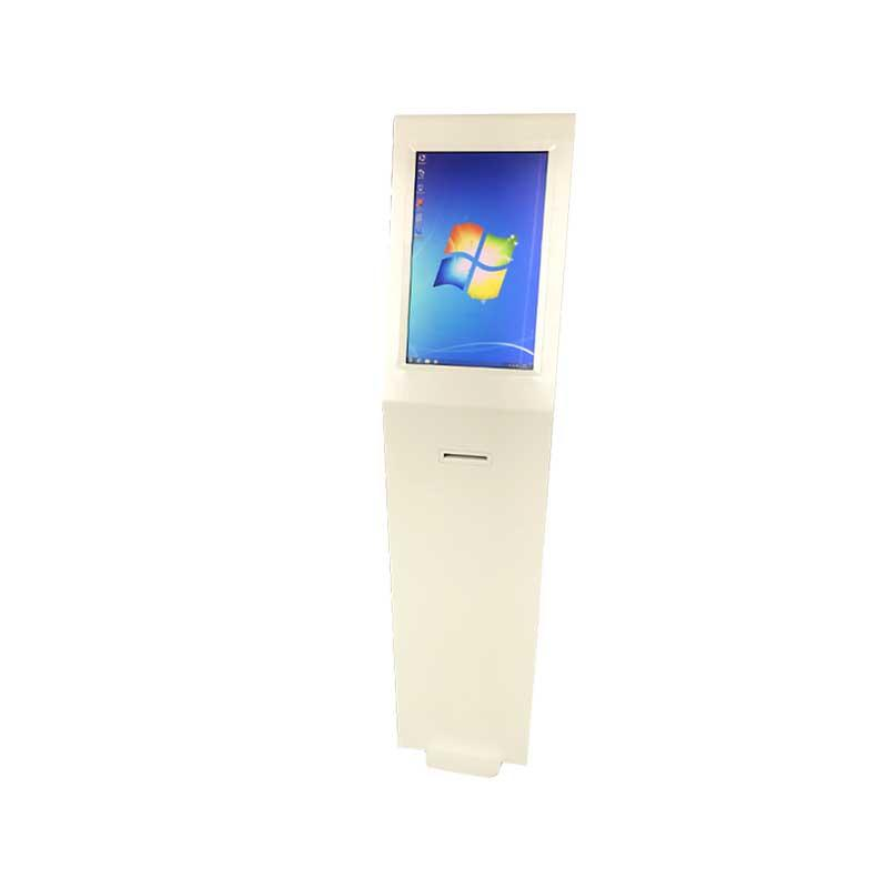 Indoor multimedia information kiosk with thermal printer for government