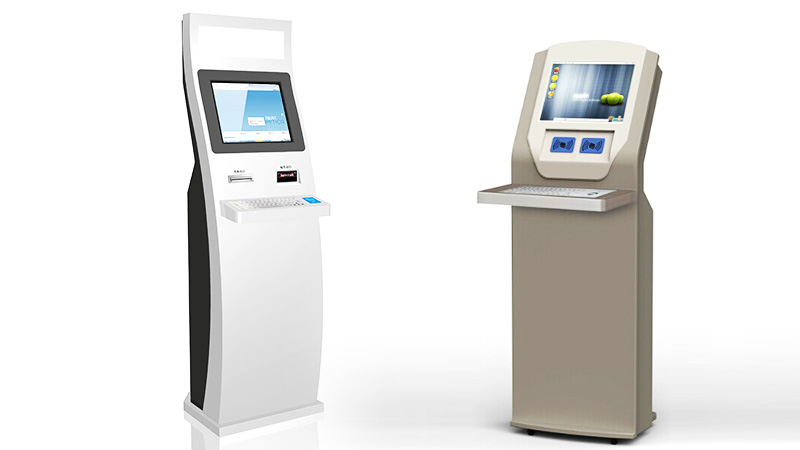Hongzhou library self checkout kiosk for busniess for books-1
