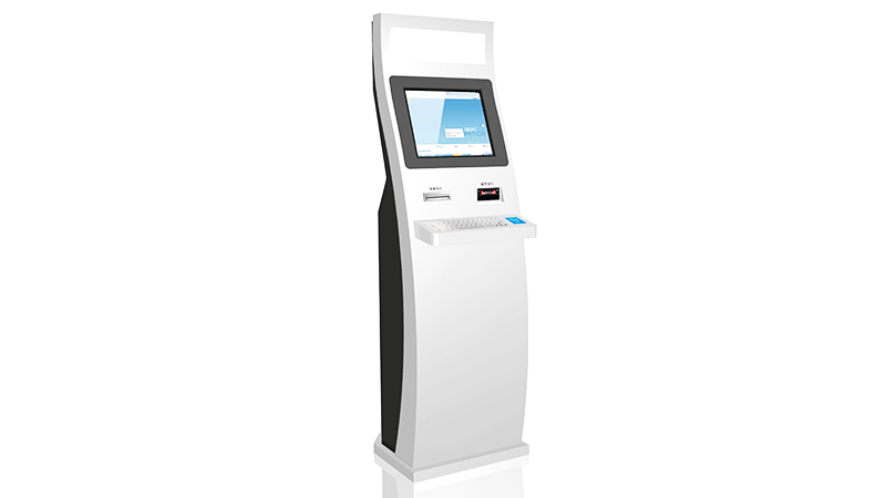 Hongzhou library self checkout kiosk for busniess for books-2