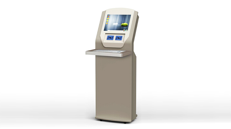 Hongzhou library self checkout kiosk for busniess for books-3
