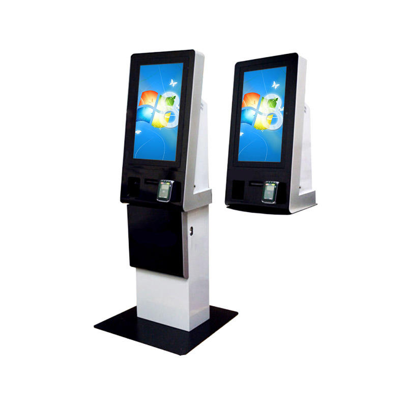 Cash payment accept kiosk with magnetic card and Windows system