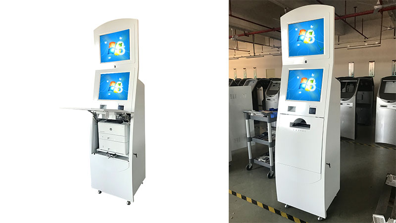 Hongzhou information kiosk machine receipt in bar-5