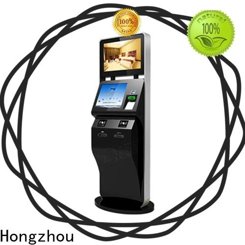 Hongzhou professional self service ticketing kiosk for busniess for sale