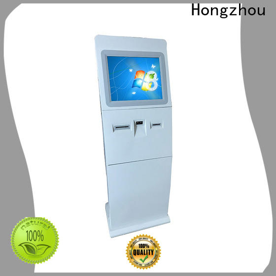 top information kiosk with camera in bar