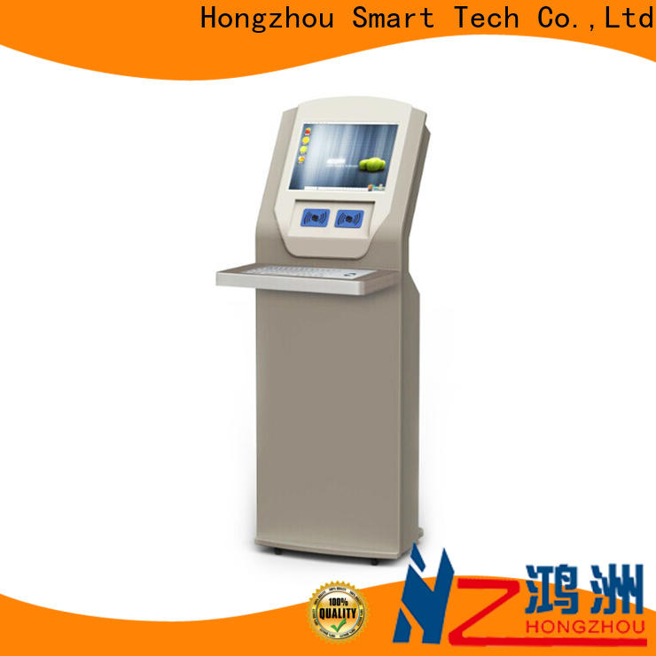 wholesale library kiosk with id card reader for books