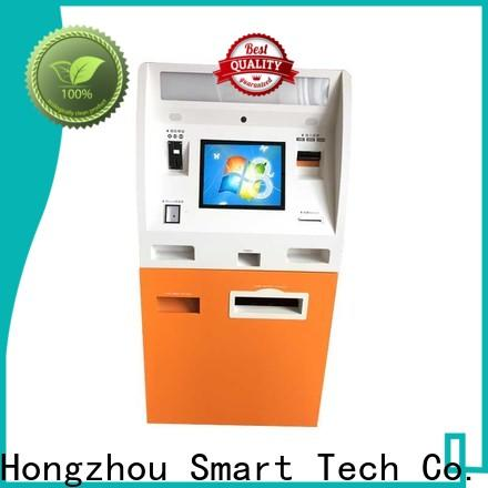 Hongzhou top automated payment kiosk supplier in bank