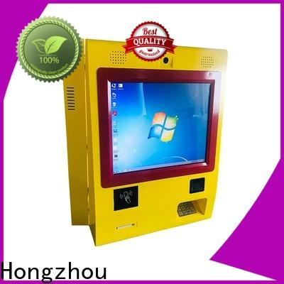 dual screen payment machine kiosk manufacturer in bank