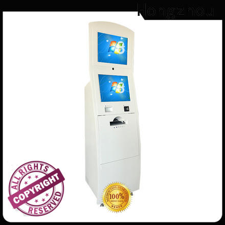 touch screen information kiosk machine factory for sale