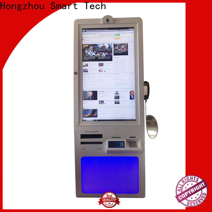Hongzhou new hospital kiosk operated in hospital
