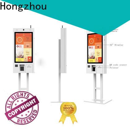 Hongzhou best self service kiosk manufacturers for business