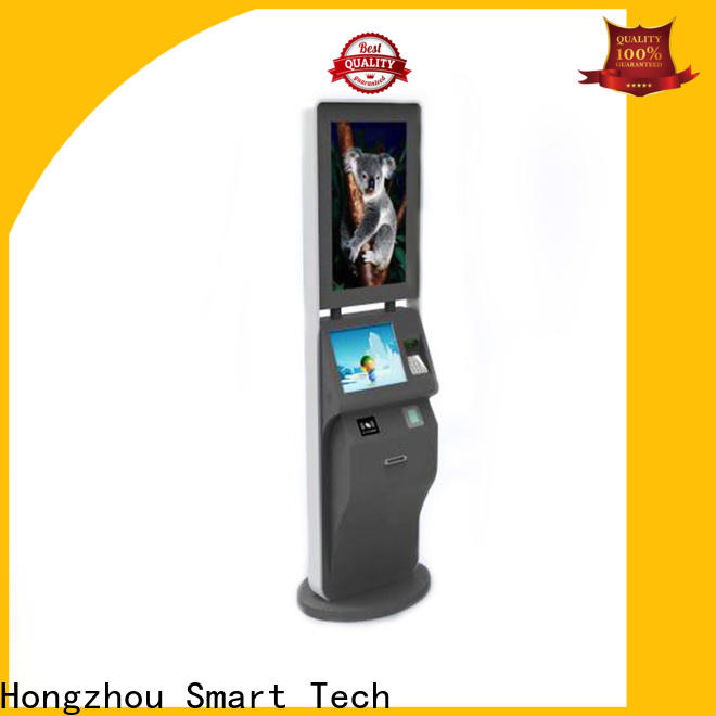Hongzhou ticket kiosk machine with camera on bus station