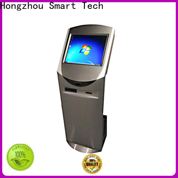 Hongzhou wireless touch screen information kiosk factory for sale