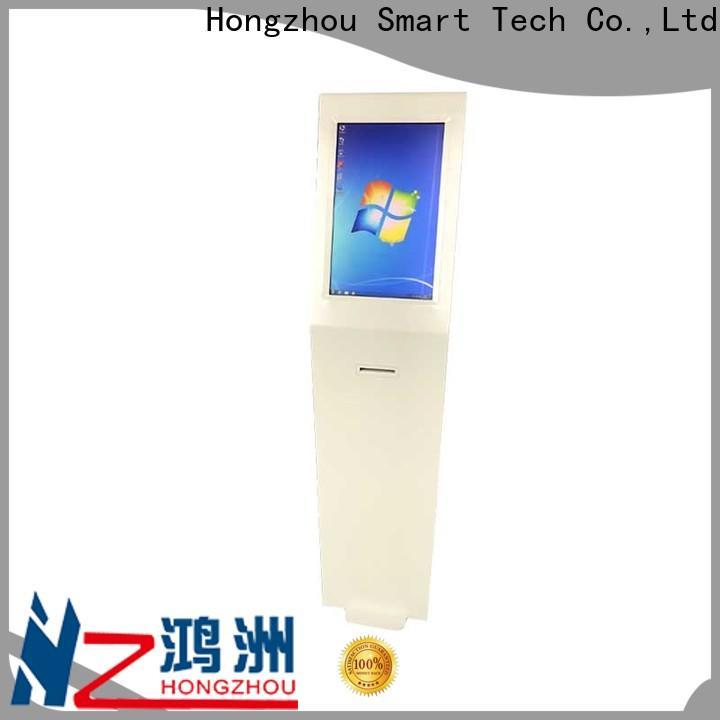 touch screen digital information kiosk factory in bar