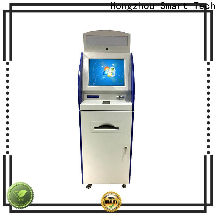 Hongzhou digital information kiosk with qr code scanning for sale