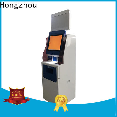 Hongzhou internet patient self check in kiosk operated for patient