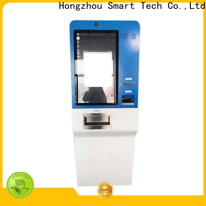 custom pay kiosk supplier in bank