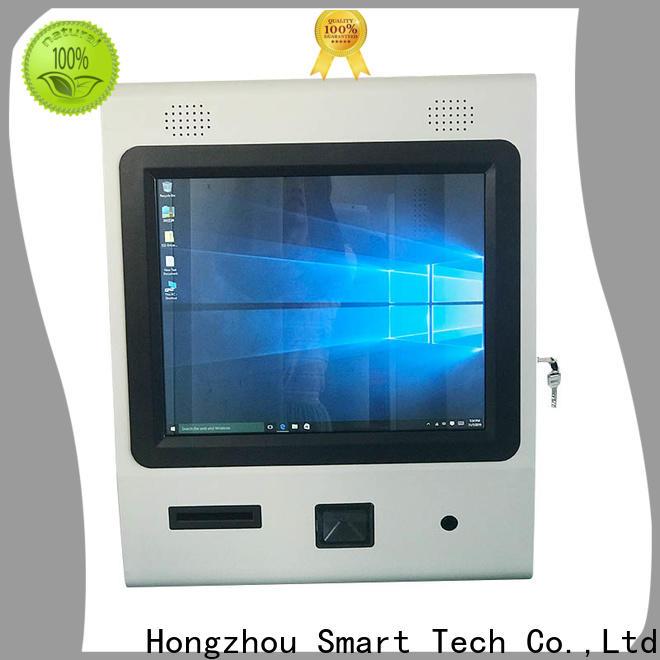new digital information kiosk with printer for sale