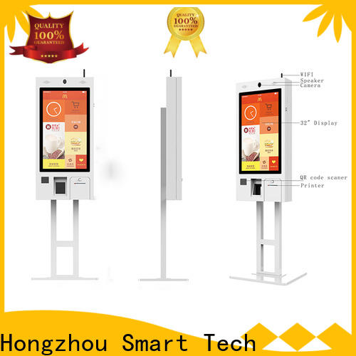 Hongzhou factory price self service kiosk with pos terminal for fast food store