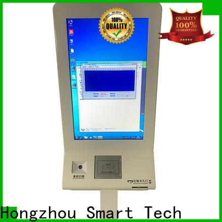 Hongzhou capacitive patient check in kiosk key for patient