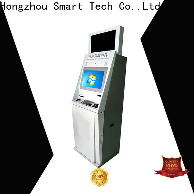 high quality self service ticketing kiosk manufacturer for sale