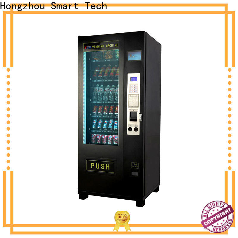 intelligent snack vending machine with barcode scanner for sale