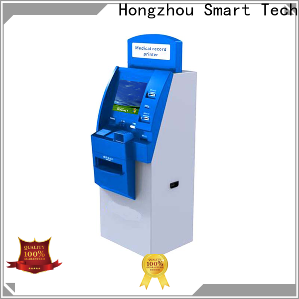 Hongzhou custom patient self check in kiosk with coin for patient
