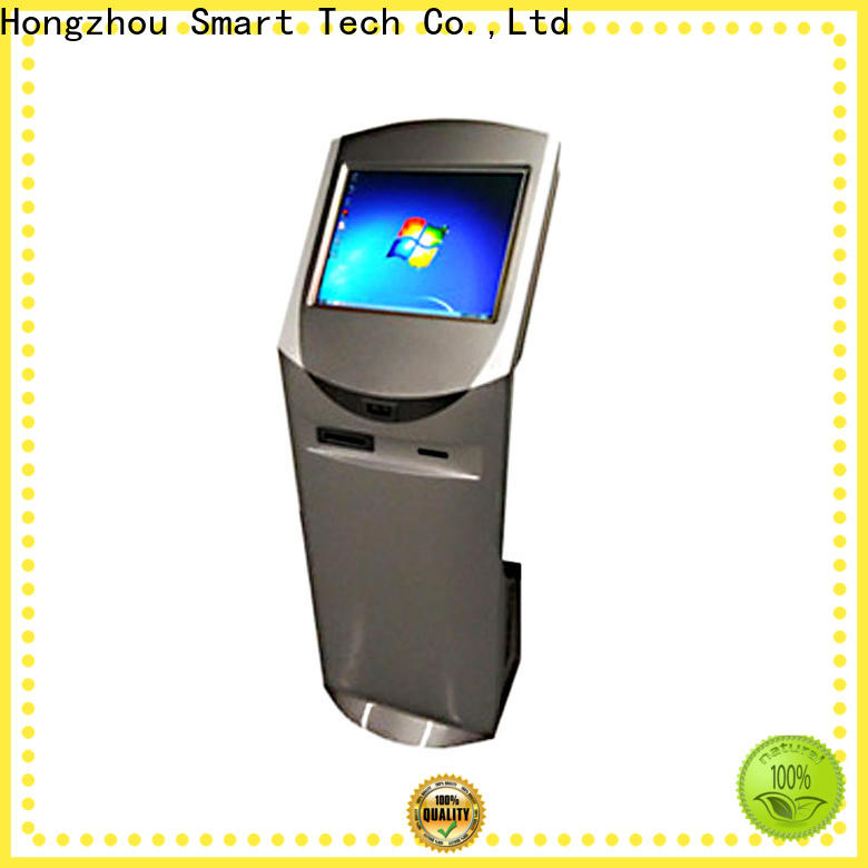 Hongzhou top interactive information kiosk company in airport