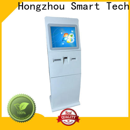 Hongzhou information kiosk receipt in airport