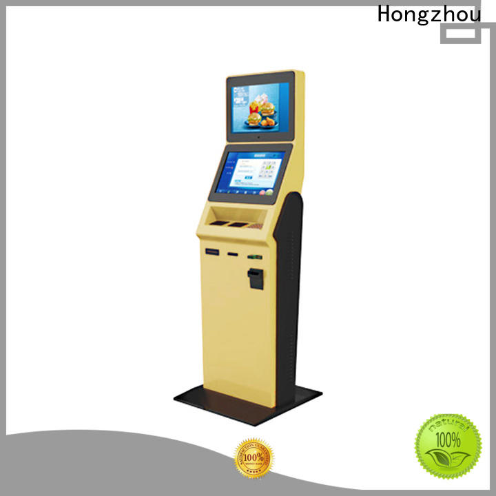 high end hotel self check in machine factory for sale