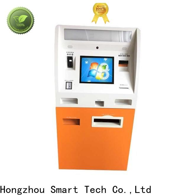 Hongzhou blue automated payment kiosk machine in hotel