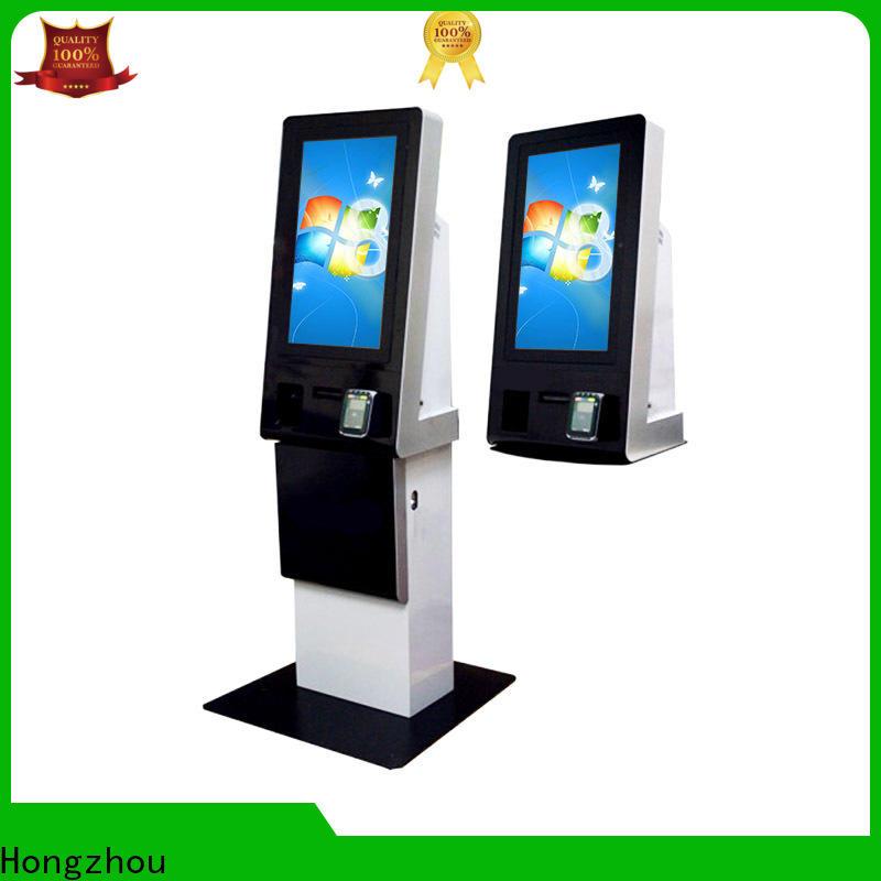 Hongzhou payment kiosk keyboard in bank