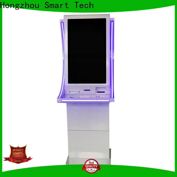 self service payment kiosk company in bank