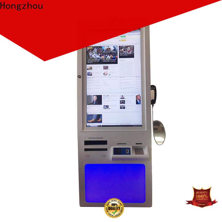 Hongzhou hospital kiosk supplier for sale
