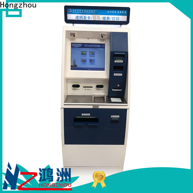 Hongzhou hospital check in kiosk factory for patient